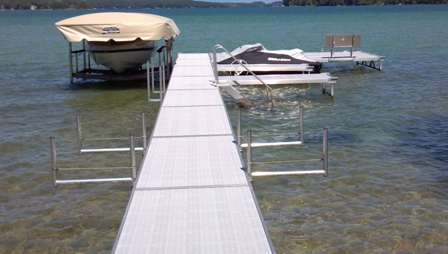 Twin Bay Dock Installer